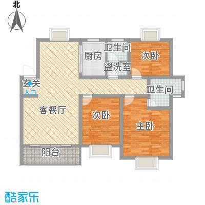 港利・上城国际139.00㎡港利・上城国际户型图户型A3室2厅2卫户型3室2厅2卫