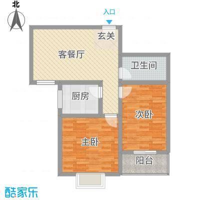 富通・香树湾富通DM-反 6 2室1厅1卫1厨 89.00㎡