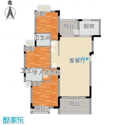 太阳湾122.00㎡太阳湾户型图21\22\23栋B户型3室2厅2卫1厨户型3室2厅2卫1厨