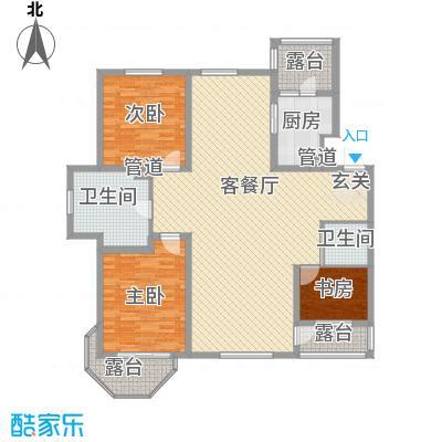 御龙仙语湾148.00㎡御龙山语湾B13室2厅2卫1厨148.00㎡户型3室2厅2卫1厨