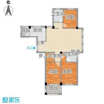 名仕紫金花园138.00㎡名仕紫金花园户型图G2户型3室2厅2卫户型3室2厅2卫