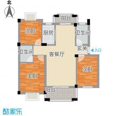 名仕紫金花园112.00㎡名仕紫金花园户型图C1户型3室2厅2卫户型3室2厅2卫