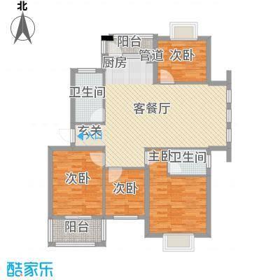 名仕紫金花园123.00㎡名仕紫金花园户型图A1户型4室2厅2卫户型4室2厅2卫
