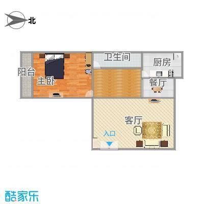 太航小区52楼4单元户型图