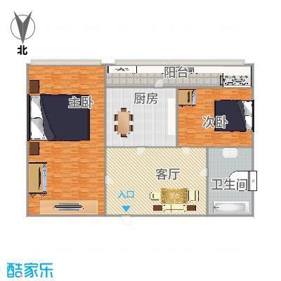 师范街省二建宿舍户型图