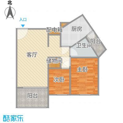 上海康城二期户型图