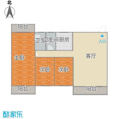 惠盛花园户型图