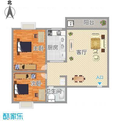 侨福城三期户型图