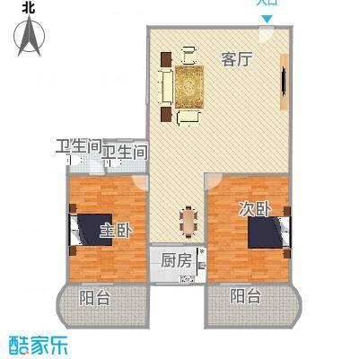 繁荣广场户型图113