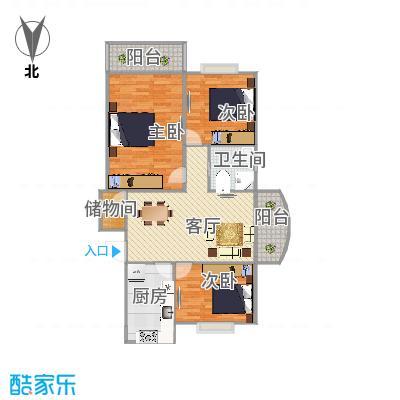 浦东新区平度路488弄金桥一景户型图
