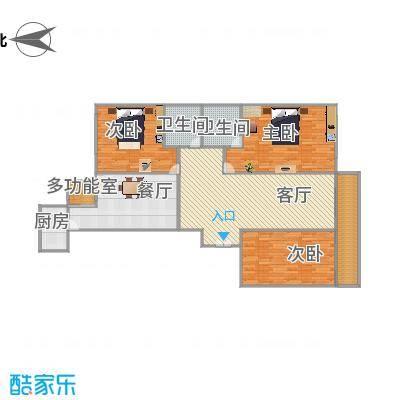 开发银行宿舍(晋阳街)户型图