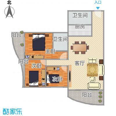 假日香港广场中环03户型图