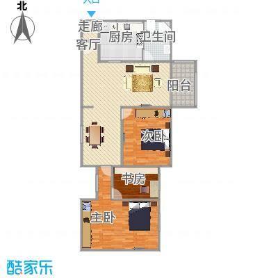 平阳四街坊   上海闵行区古美西路628弄13号401室户型图