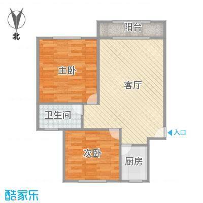 尚城河滨户型图
