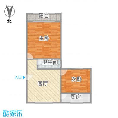 蔷薇二村户型图