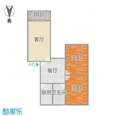 龙柏二村户型图