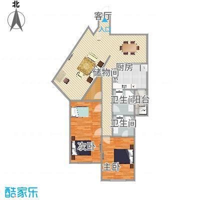 中福公寓   上海浦东东绣路1155弄 2号503室户型图