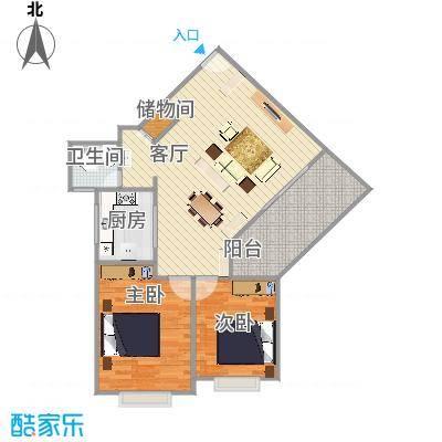 东华园户型图