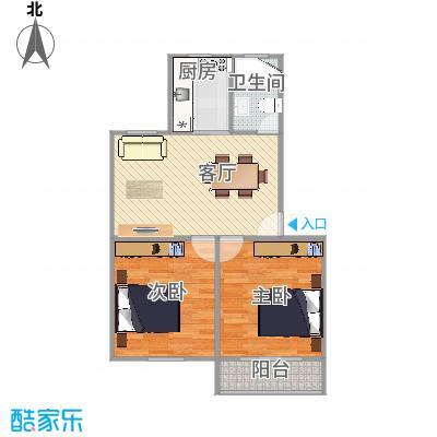 金杨新村二街坊户型图