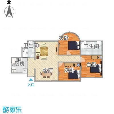 西郊家园   上海长宁区虹桥路2328弄 2号901室户型图