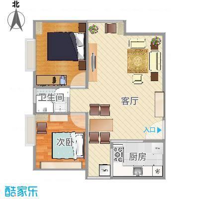 金悦东山国际公馆户型图