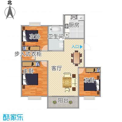 浦东海阳路1125弄25号302室吉利名苑户型图