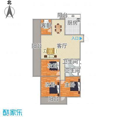 聚祥广场户型图
