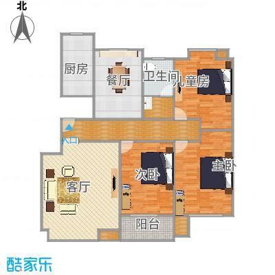宜居园-三室二厅