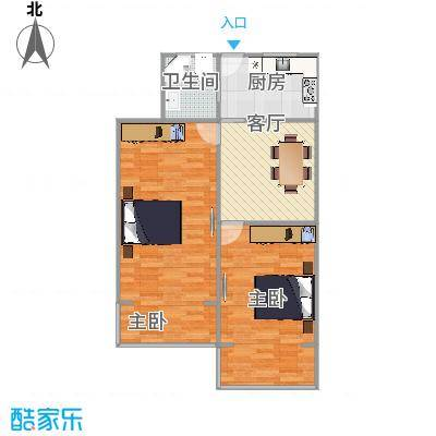 仁德小区  虹口区仁德路420弄 6号 603室户型图