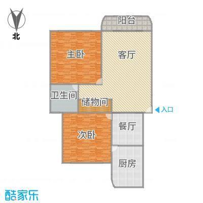 虹德苑户型图
