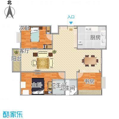 永红家园户型图