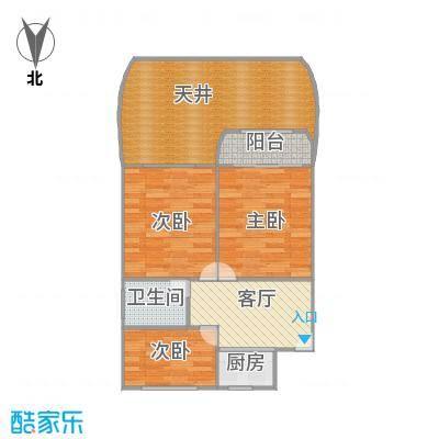 田林十四村户型图