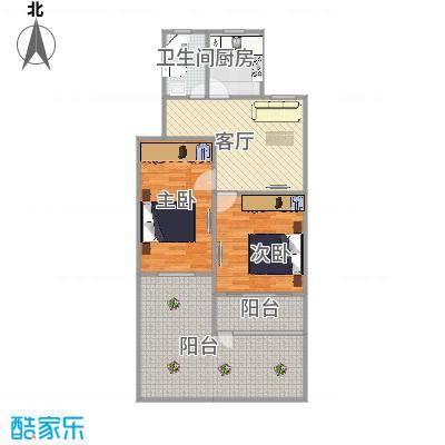 开城新村    上海闵行区莘朱路81弄19号101室户型图