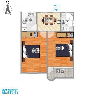 平南三村  万源路平南三村16号502室户型图