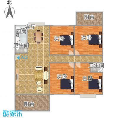 国贸广场二期户型图4