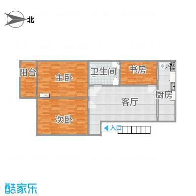 东昌盛小区三室一厅户型图