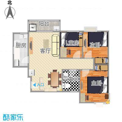 修正朝向_东方新城12号楼01