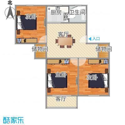 淞南七村户型图