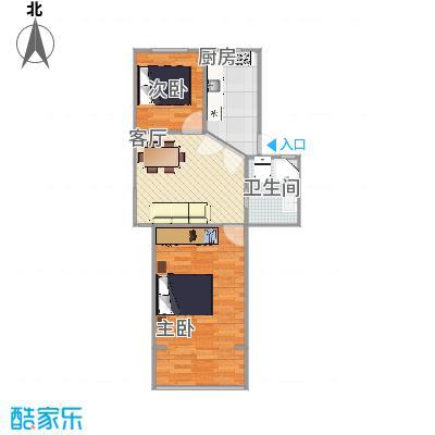翠春小区  上海长宁区平塘路700弄 25号502室户型图