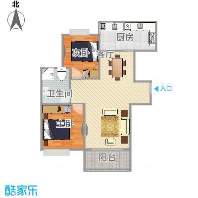 九歌上郡  上海闵行区宜山路2328弄31号203室户型图
