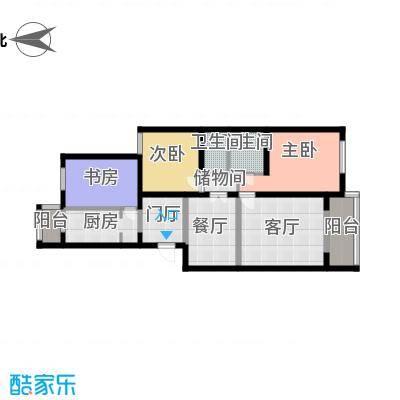 龙锦苑东五区-户型