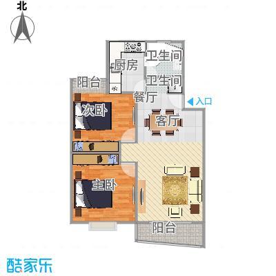 三泉家园户型图