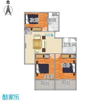 新泾苑   上海长宁区中泾路18弄7号402室户型图