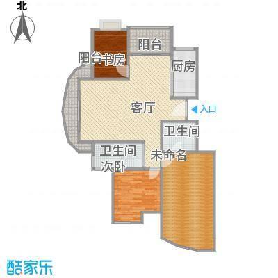 蝶庄2号楼136平户型的小改方案