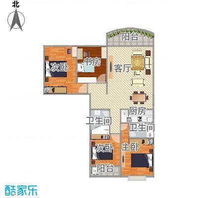 假日香港广场浅水湾02户型图