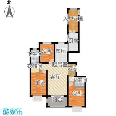 世纪龙庭二期147.00㎡U户型3室2厅2卫