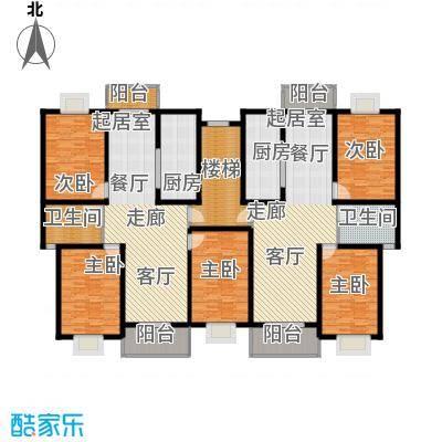 中发书香华庭115.00㎡宽景居家F户型