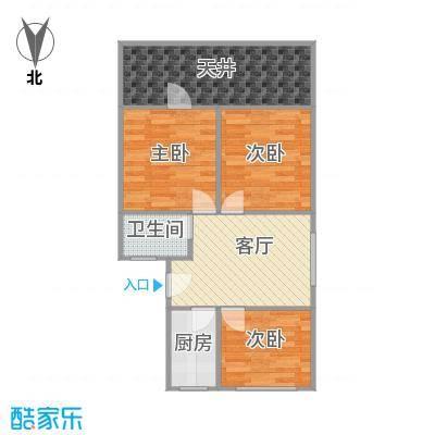 牡丹公寓户型图