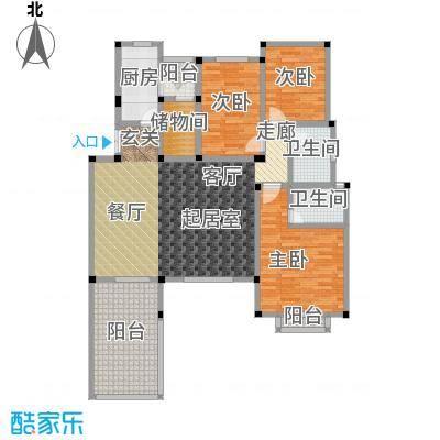 万润一品苑133.00㎡三室两厅两卫,建筑面积约133㎡户型3室2厅2卫