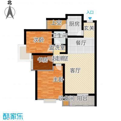 清渭公馆清渭公馆 3室2厅1卫 114.05户型3室2厅1卫